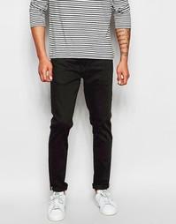 Узкие черные эластичные джинсы Ben Sherman - Черный