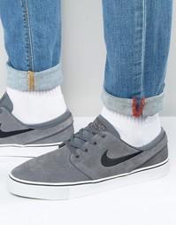 Серые кроссовки Nike SB Stefan Janoski 333824-050 - Серый