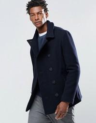 Пальто-бушлат Original Penguin Lance - Темно-синий