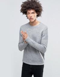 Полушерстяной вязаный джемпер Cheap Monday - Серый