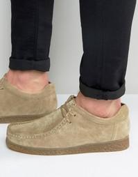 Замшевые туфли Base London XXVI Genesis - Рыжий