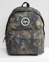 Рюкзак с лиственным принтом Hype - Мульти