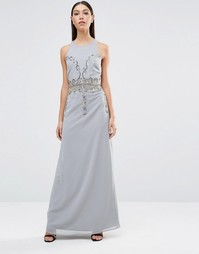 Платье макси Maya - Серый