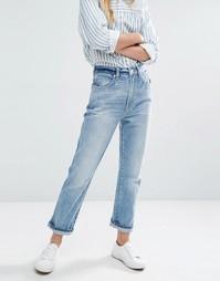 Прямые джинсы в винтажном стиле Rollas Original - Синий Rollas