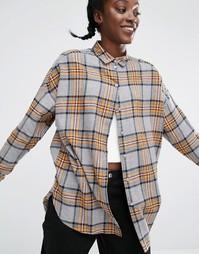 Рубашка в клетку Monki - Мульти