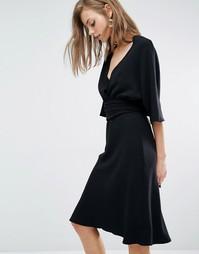 Платье с отдельной блузкой Ba&sh Miranda - Черный Ba&Sh
