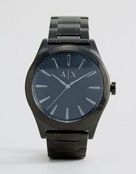 Черные часы из нержавеющей стали Armani Exchange AX2322 - Черный