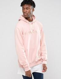 Худи с логотипом Criminal Damage - Розовый