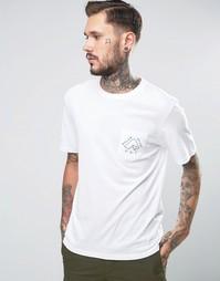 Рубашка с маленьким логотипом Poler - Белый