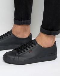 Кожаные кроссовки Kickers Tovni - Черный