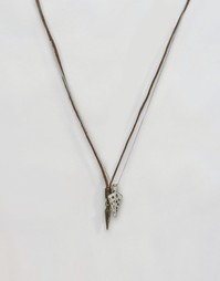 Набор ожерелий с наконечниками стрел Icon Brand - Черный