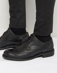 Кожаные туфли дерби G-Star - Черный