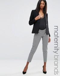 Жаккардовые брюки для беременных ASOS Maternity - Мульти