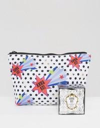 Гелевая основа под макияж и косметичка с принтом звезд в ПОДАРОК Anna Sui - Бесцветный