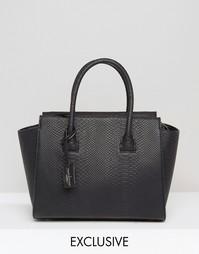 Черная эксклюзивная сумка-тоут Pauls Boutique - Черный
