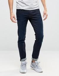 Темные облегающие джинсы Boss Orange 72 - Синий