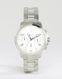 Серебристые часы Fossil Gwynn ES4036 - Серебряный