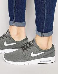 Серые кроссовки Nike SB Stefan Janoski Max 685299-005 - Серый