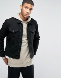 Джинсовая куртка Troy - Черный