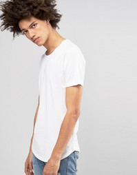 Длинная футболка Troy - Белый
