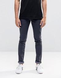 Эластичные джинсы скинни !SOLID - Синий