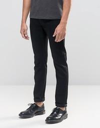 Черные джинсы слим из селвидж-денима Cheap Monday Sonic - Черный