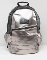 Рюкзак с отделкой металлик Heist - Розовый