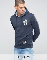 Худи Majestic Yankees эксклюзивно для Asos - Темно-синий