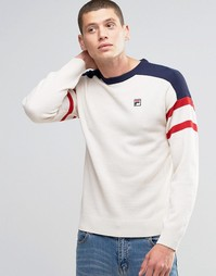 Джемпер в стиле ретро Fila Vintage - Белый