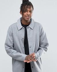 Трикотажная рубашка навыпуск Dickies - Серый