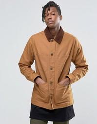 Парусиновая куртка Dickies Chore - Коричневый