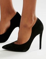 Черные замшевые туфли-лодочки Kendall & Kylie - Черный