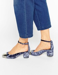 Туфли на каблуке ASOS SUGAR BABY - Серый
