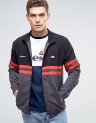 Спортивная куртка в замшевом стиле Ellesse Rimini - Черный