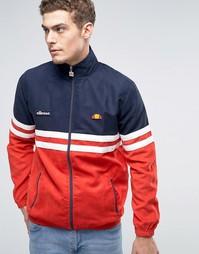 Спортивная куртка в замшевом стиле Ellesse Rimini - Красный