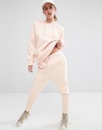 Спортивные штаны с заниженным шаговым швом Bones - Розовый
