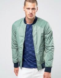 Двусторонняя куртка‑пилот Scotch and Soda - Зеленый
