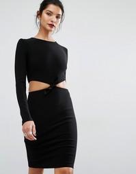 Платье с длинными рукавами Bec & Bridge Lucienne - Черный