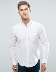 Розовая оксфордская рубашка слим Abercrombie & Fitch - Розовый