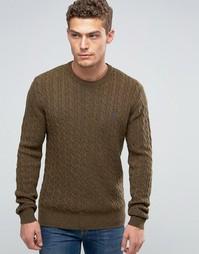 Джемпер из мериносовой шерсти Jack Wills - Зеленый