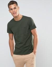 Сосновая футболка классического кроя Jack Wills Fitin - Зеленый
