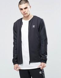 Черная куртка-пилот adidas Originals BLK/WVN MOD BQ3528 - Черный