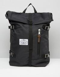 Рюкзак с закатанным верхом Poler - Черный