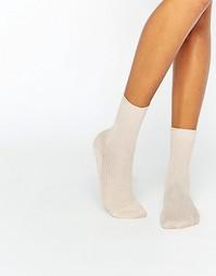 Блестящие носки Gipsy - Золотой