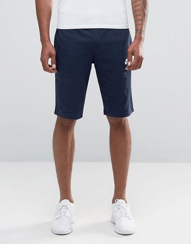 Темно-синие трикотажные шорты Nike Crusader 804419-451 - Темно-синий