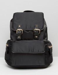 Рюкзак с пряжками Miss Selfridge - Черный