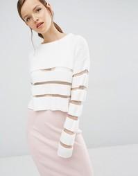Трикотажный свитер Asilio Ladder to Lust - Белый