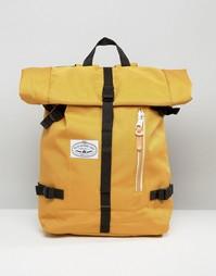 Рюкзак с закатанным верхом Poler - Желтый