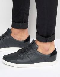 Кожаные кроссовки Boxfresh Cladd - Черный