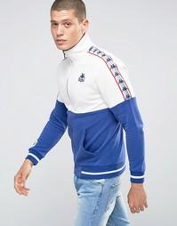 Спортивная куртка с контрастными вставками Kappa - Синий